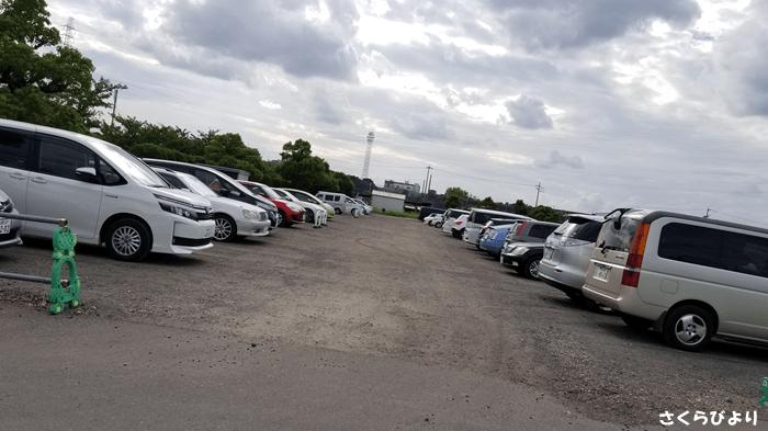 加福フイッシュランドの駐車場の写真