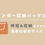 【超時短】ハンガー収納バッグは主婦必須のアイテムに間違いなし!+使用レビュー